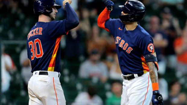 Houston Astros Kyle Tucker
