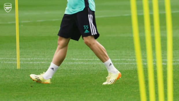 Gabriel Martinelli returns to Arsenal training