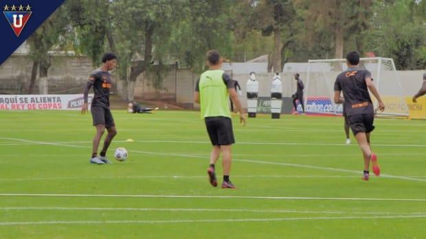 Liga de Quito prepare to face Athletico Paranaense
