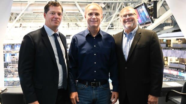 Bill Guerin, W. Graeme Roustan and Craig Leipold