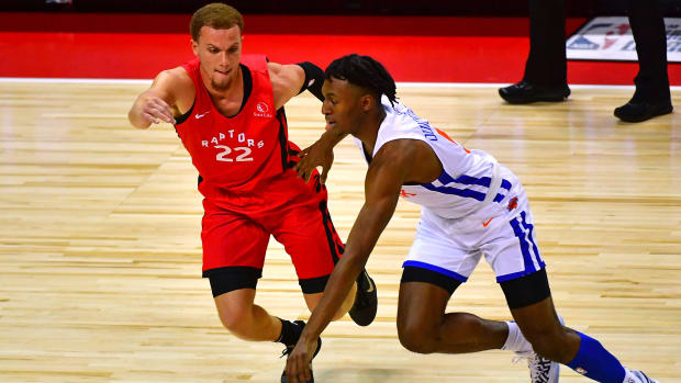 Toronto Raptors Malachi Flynn