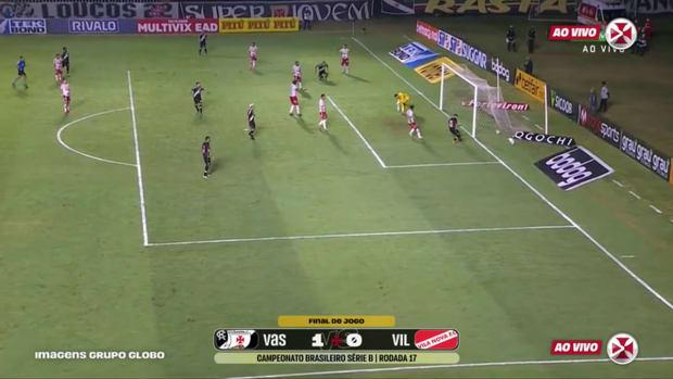 Vasco beat Vila Nova at São Januário
