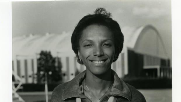 Lillie Leatherwood, gold medalist