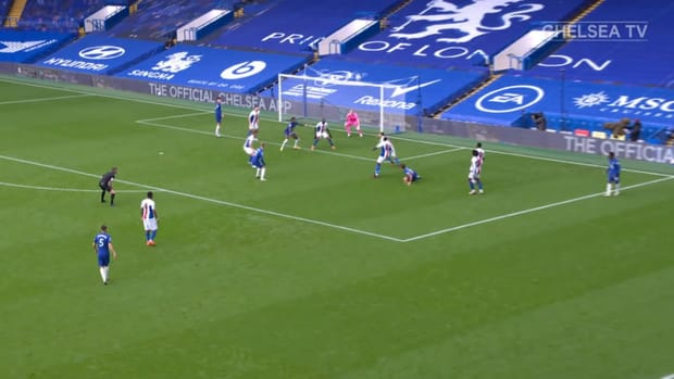 Ben Chilwell's first Chelsea goal