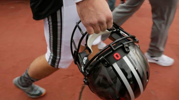 Ohio State Black Helmet