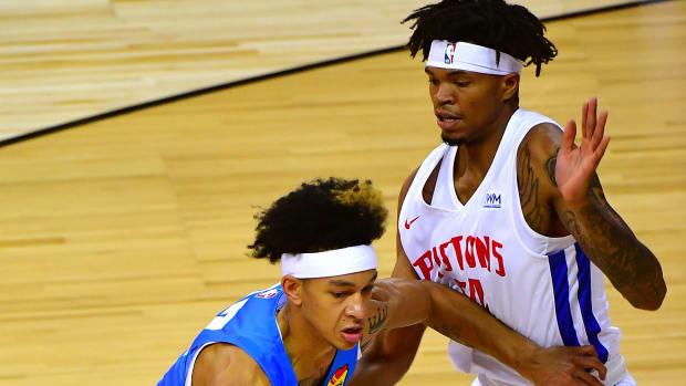 Tre Mann, Summer League, Detroit Pistons