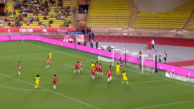 Jean-Charles Castelletto scores FC Nantes first Ligue 1 goal in 2021-22