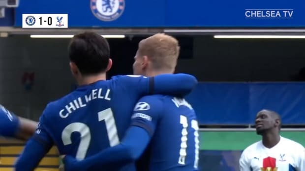 Chelsea's eight goals against Palace in 2020-21