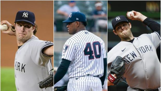 Yankees SP Gerrit Cole, Luis Severino, Jordan Montgomery