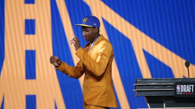 Golden State Warriors Jonathan Kuminga
