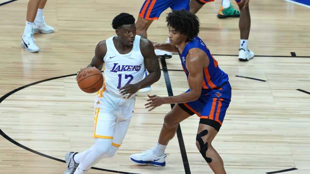 Los Angeles Lakers Devontae Cacok
