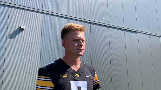 Iowa QBs Media Day Interviews