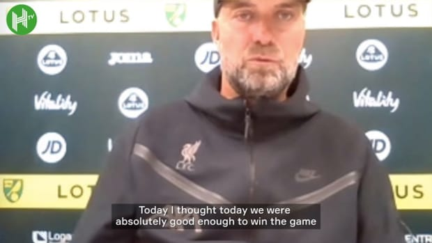 Klopp happy with result but insists performances can improve