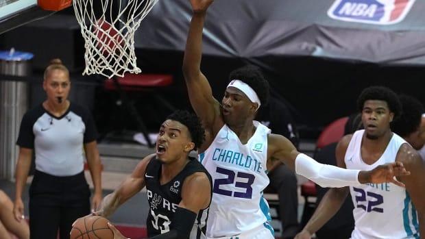 San Antonio Spurs Tre Jones
