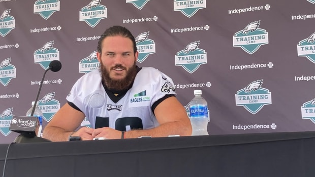 Alex Singleton talks about the preseason opener and more on Aug. 14, 2021