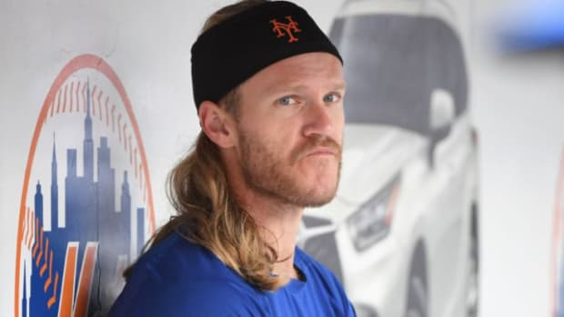 Mets' Noah Syndergaard is not happy with MLB's 'dumb' scheduling decision.
