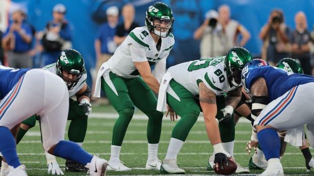 Jets QB Zach Wilson under center in preseason