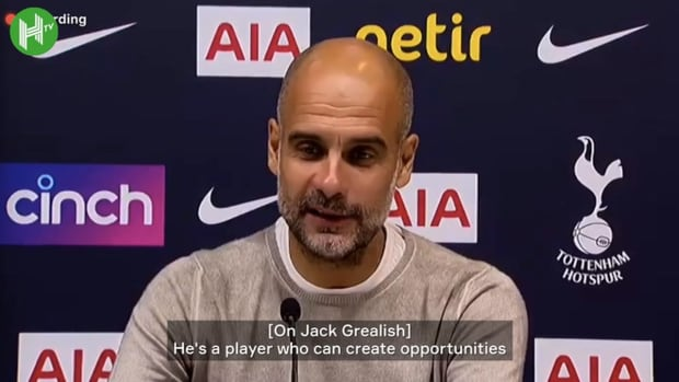 Pep on positives in defeat and Grealish's performance