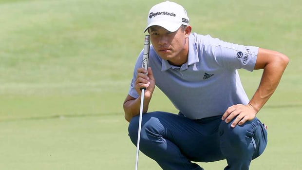 Collin Morikawa enters the Northern Trust as the FedEx Cup points leader.