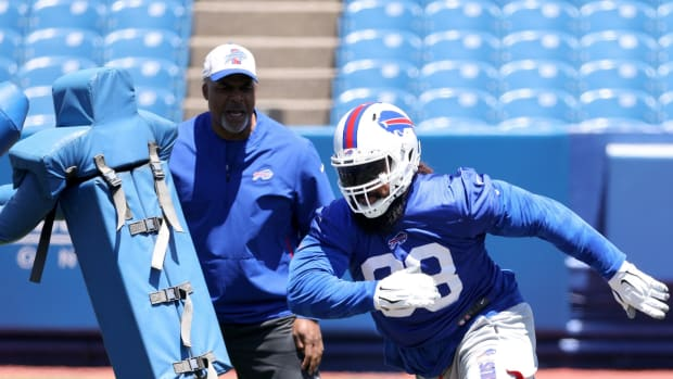 Buffalo Bills defensive tackle Star Lotulelei has been sharp upon his return after opting out of 2020.