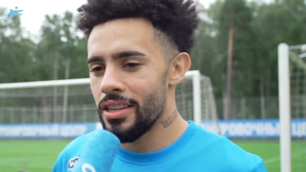 Claudinho's first words as a Zenit player