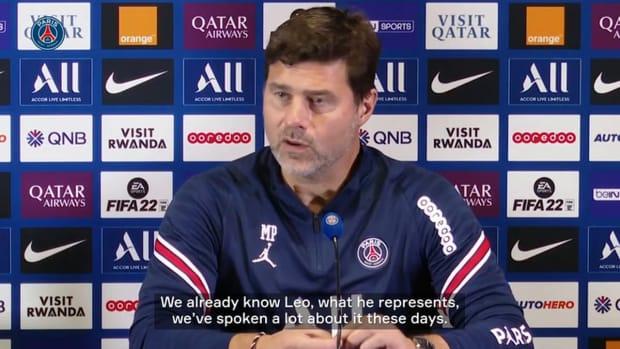 Pochettino: 'Messi has adapted very well'