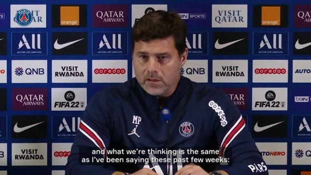 Pochettino: 'I don't see Mbappé leaving this season'