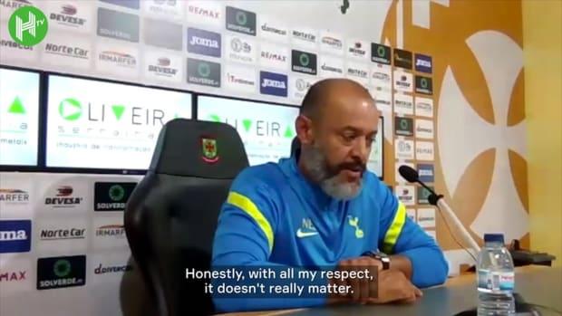 Nuno Santo: Harry Kane is a Tottenham player