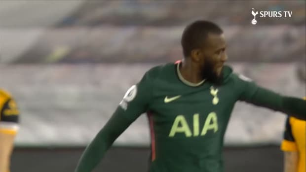 Ndombele gives Spurs early lead at Wolves