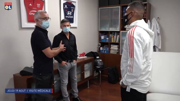 Behind the scenes: Emerson Palmieri's first day at Olympique Lyonnais