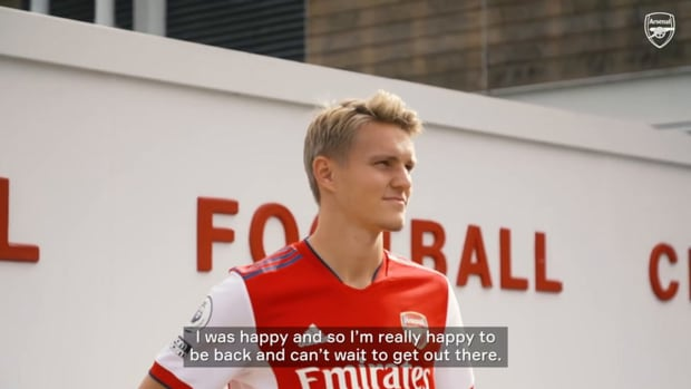 Ødegaard: 'I'm really excited to be here again'