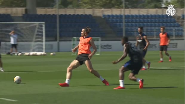 Marco Asensio continues preparations for the Levante clash