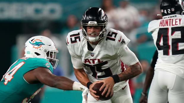 Feleipe Franks Atlanta Falcons vs Miami Dolphins