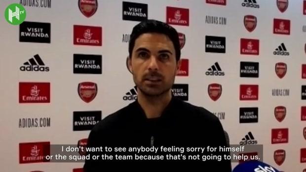Mikel Arteta speaks after Chelsea defeat