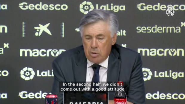 Carlo Ancelotti: 'We have to improve defensively'