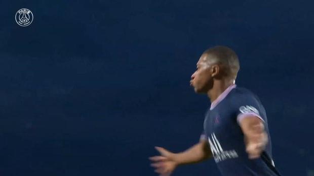Mbappé's header against Brest