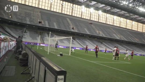 Corinthians beat Athletico-PR in the seventeenth round of 2021 Brasileirão Serie A