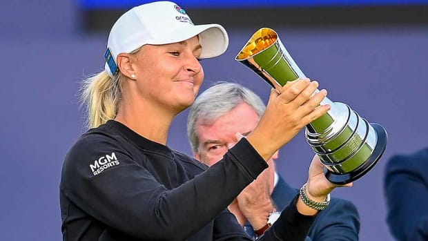 Anna Nordqvist prevailed by one shot at the 2021 Women's British Open.