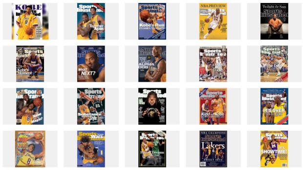 Kobe Bryant SI Covers