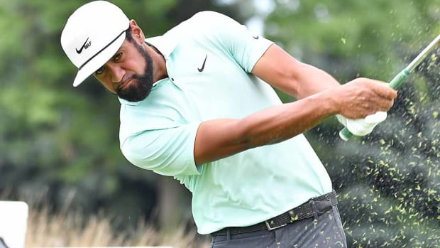 Tony Finau earned $1,710,000 for his victory Monday at the Northern Trust.