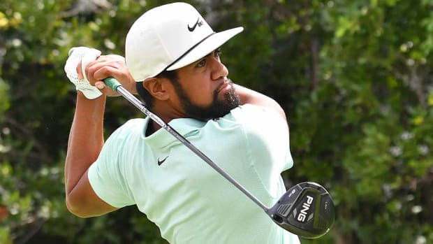Tony Finau leads the FedEx Cup standings after his win at the 2021 Northern Trust.