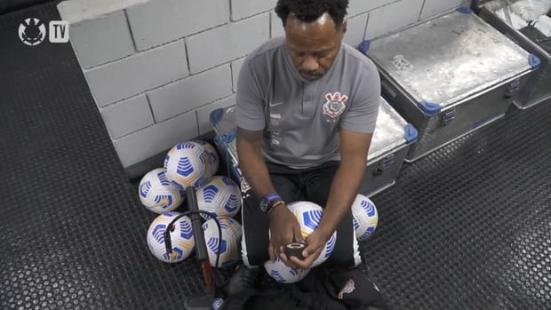 Behind the scenes of Corinthians' away victory over Athletico-PR