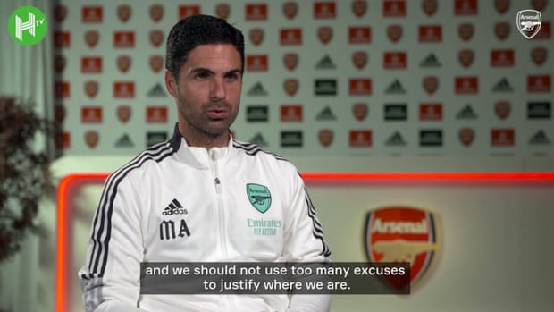Mikel Arteta concedes Arsenal need to get results