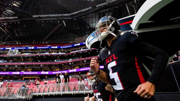 AJ McCarron, Atlanta Falcons