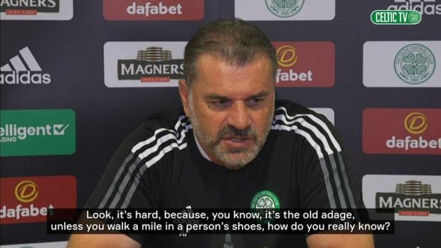 Postecoglou: Kyogo is enjoying his time at Celtic