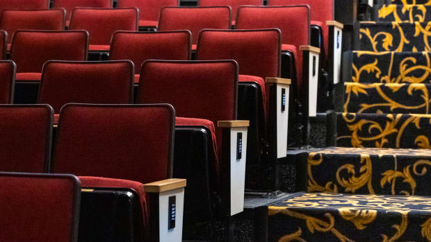 Broadway theater seats