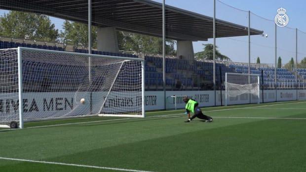 2 vs 2 training session at Real Madrid City