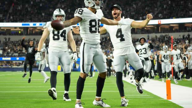 Derek Carr Raiders Celebrate