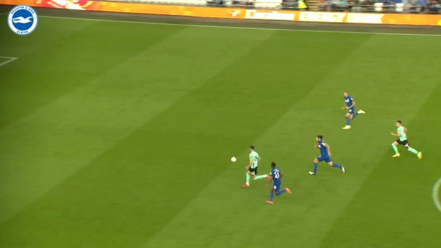 Moder's first goal for Brighton