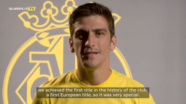 Gerard Moreno on being named 20/21 Europa League Player of the Season
